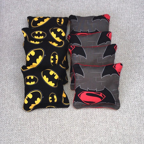 Batman vs Superman cornhole bags - medium -