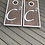Thumbnail: Personalised stained cornhole boardsand 8 x throwing bags