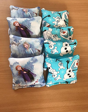 Frozen Cornhole Bags - Large