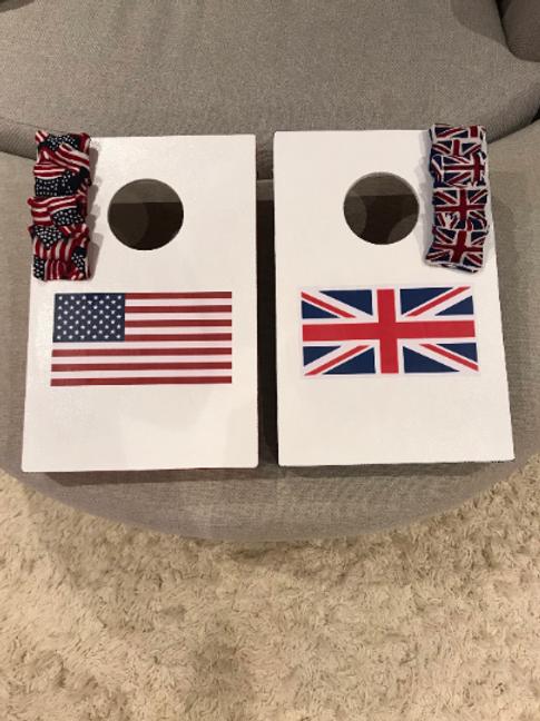 Customised flag mini set