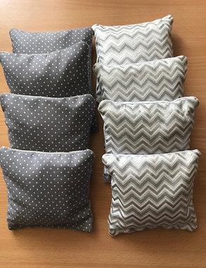 Patterned Cornhole bags x 8 Large