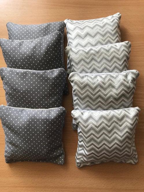 Patterned cornhole bags - regulation size