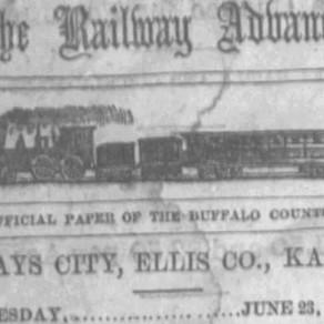 The First Newspaper of Hays City