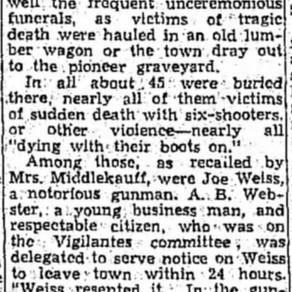 Unceremonious Funerals