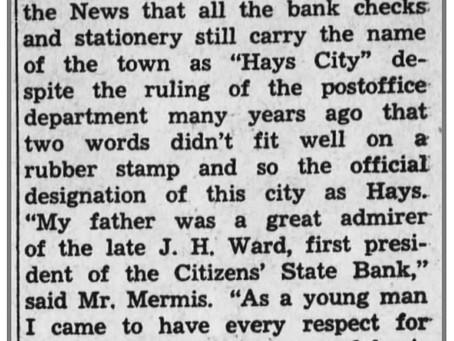 Hays City fans in 1932