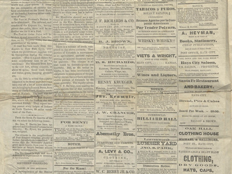 Long-lost newspaper from 1868 located!