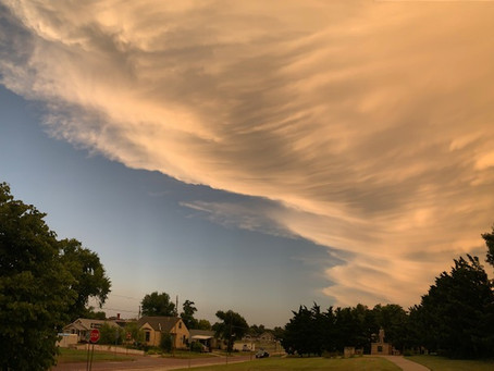 Stunning Storm Clouds over Boot Hill