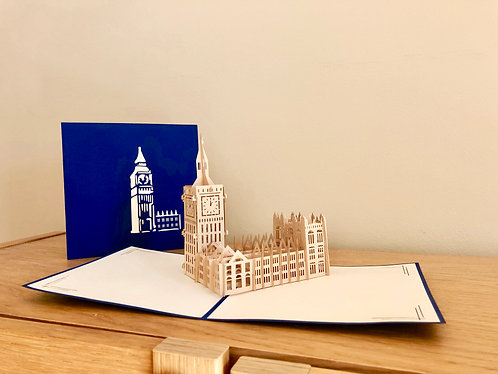 Big Ben Pop up card