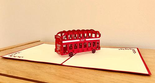 London Bus Pop up card