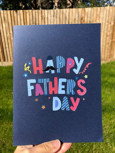 Happy Father's Day pop up card