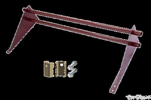 Снегозадержатель трубчатый для фальцевой кровли, дл. 1 метр, Optima
