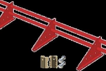 Снегозадержатель трубчатый для фальцевой кровли, дл. 3 метра, Optima
