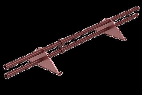 Снегозадержатель трубчатый, длина 1 метр, Optima