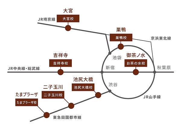 開校地MAP