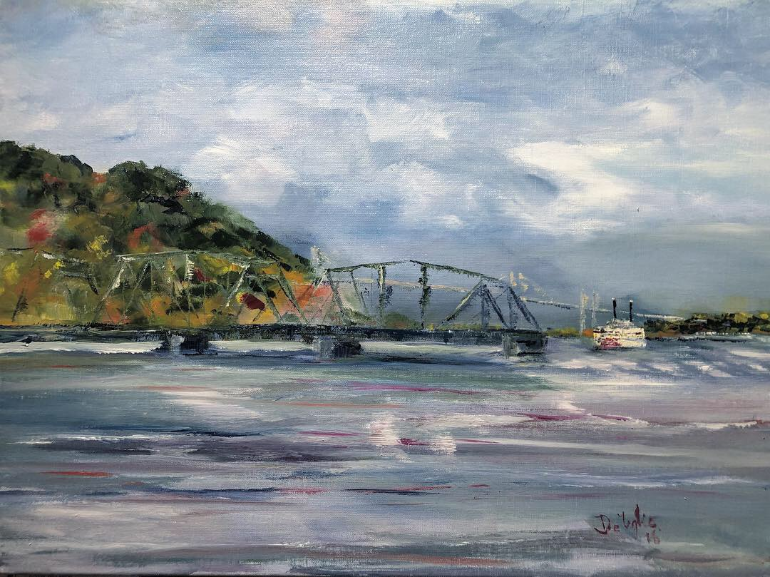 Riverfront Painting