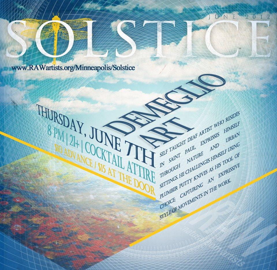 Solstice RAW art show