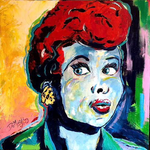 """""""I love Lucy"""" Lucille Ball"""