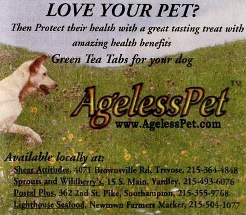 Ageless pet Green tea for dogs