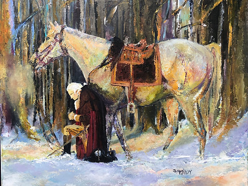 Prayer at Valley Forge (PRINT ONLY)