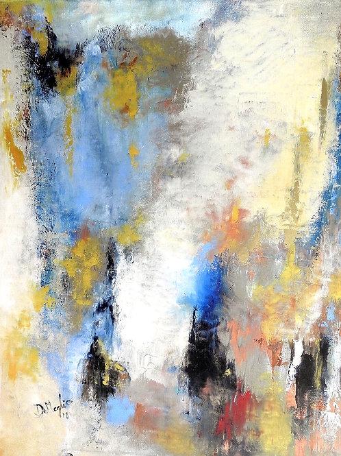 "Pastoral II Acrylic on canvas 20""x30"""