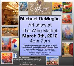 Wine Market (Solo show)