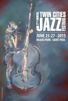 Jazz Fest 2015 Poster winner
