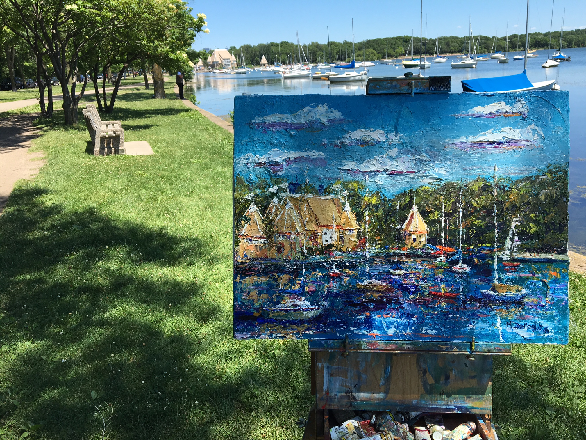 Commission of Lake harriet