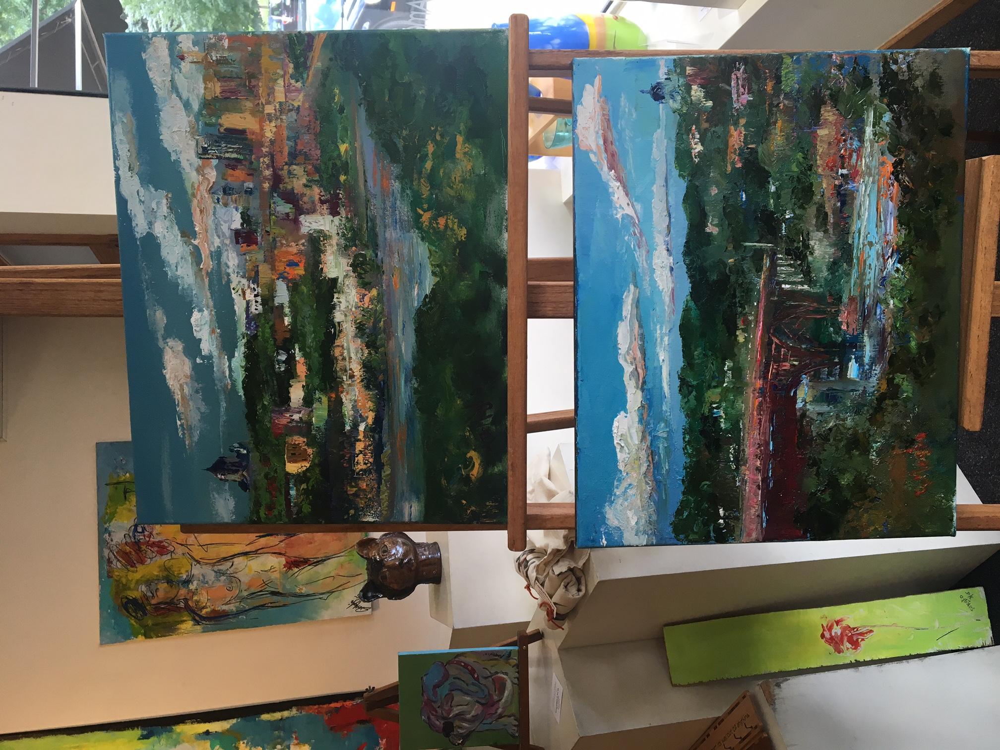 High Bridge Paintings