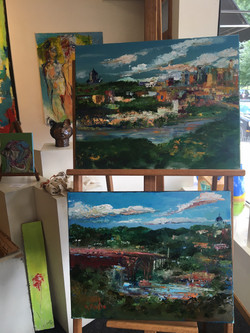 High Bridge Paintings