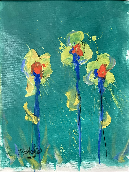 First sign of Spring (Series #2) (Sold)