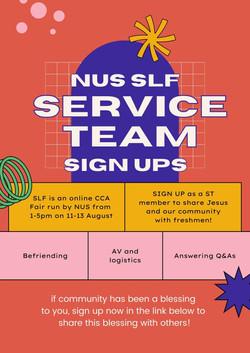 SLF 2021 Service Team Signups