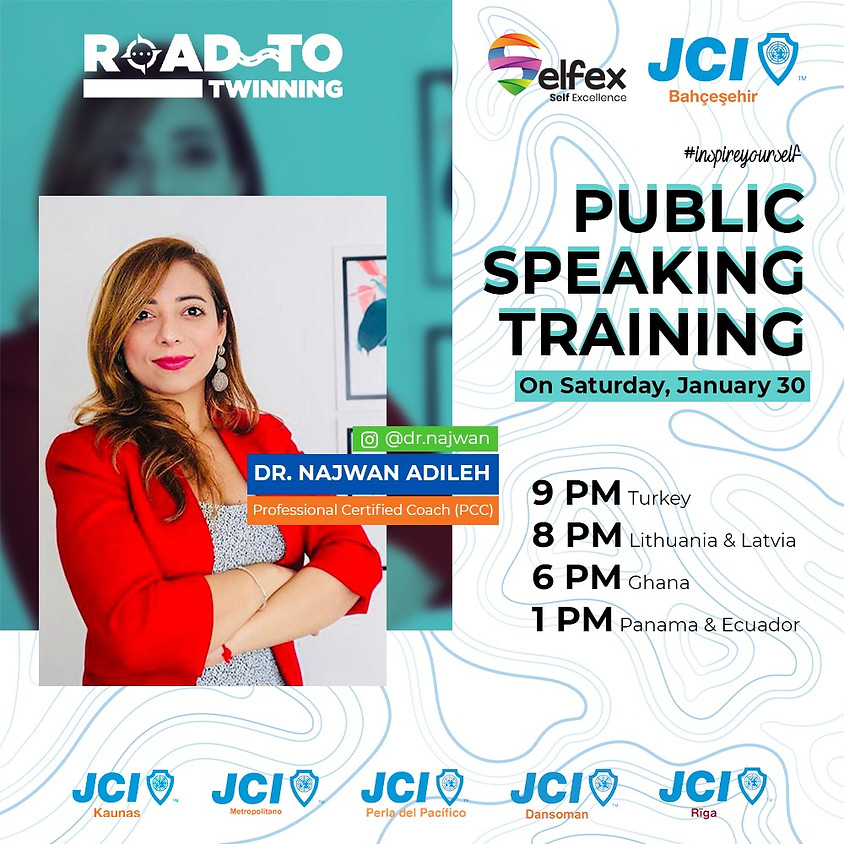 JCI Bahçeşehir Public Speaking Training