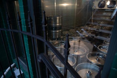 Keg Storage Outside In