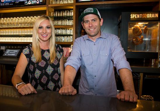 Tiffany & Jake, LBBC Owners