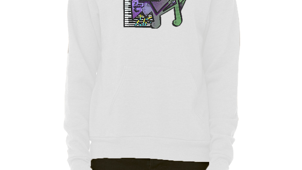 Fleece Pullover Hoodie (Its Just Different)