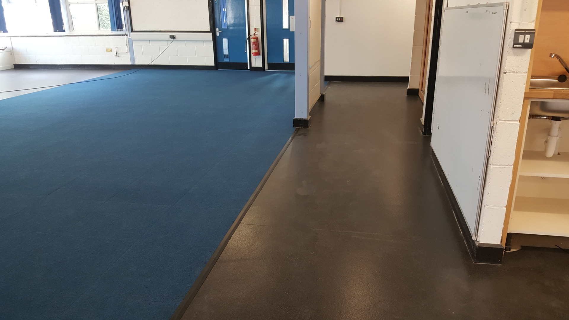Replacement floorng after flood