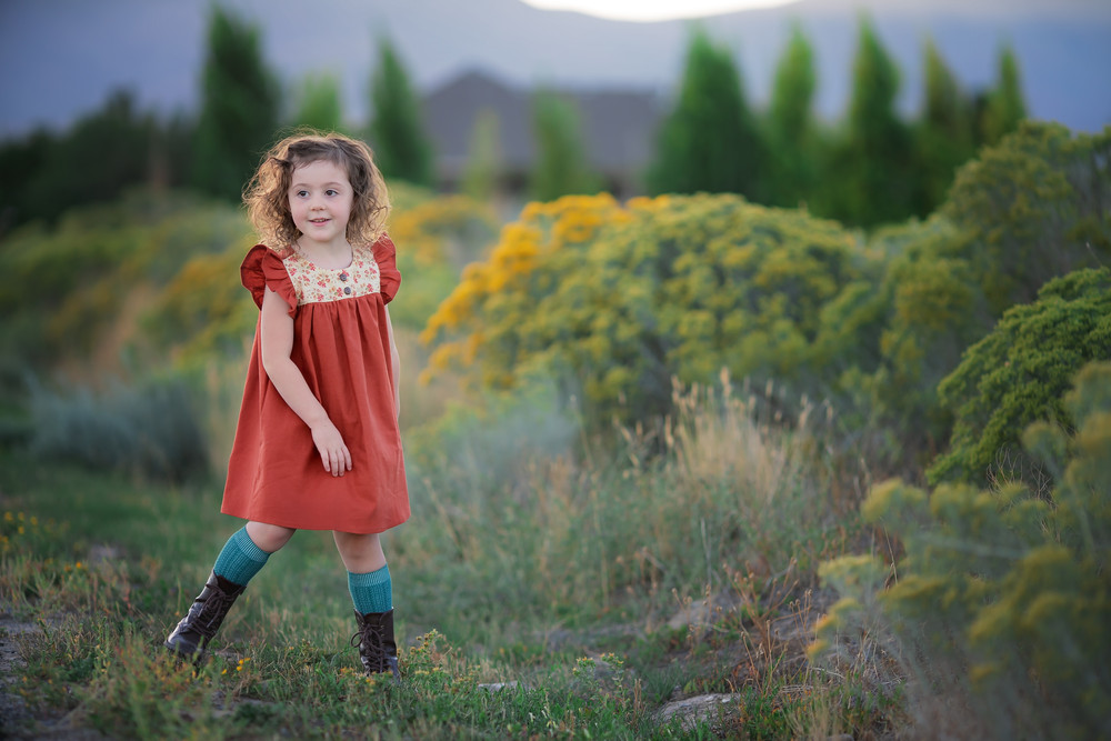 fall, fall fashion, commercial, natural light, curly hair, dress, socks, target