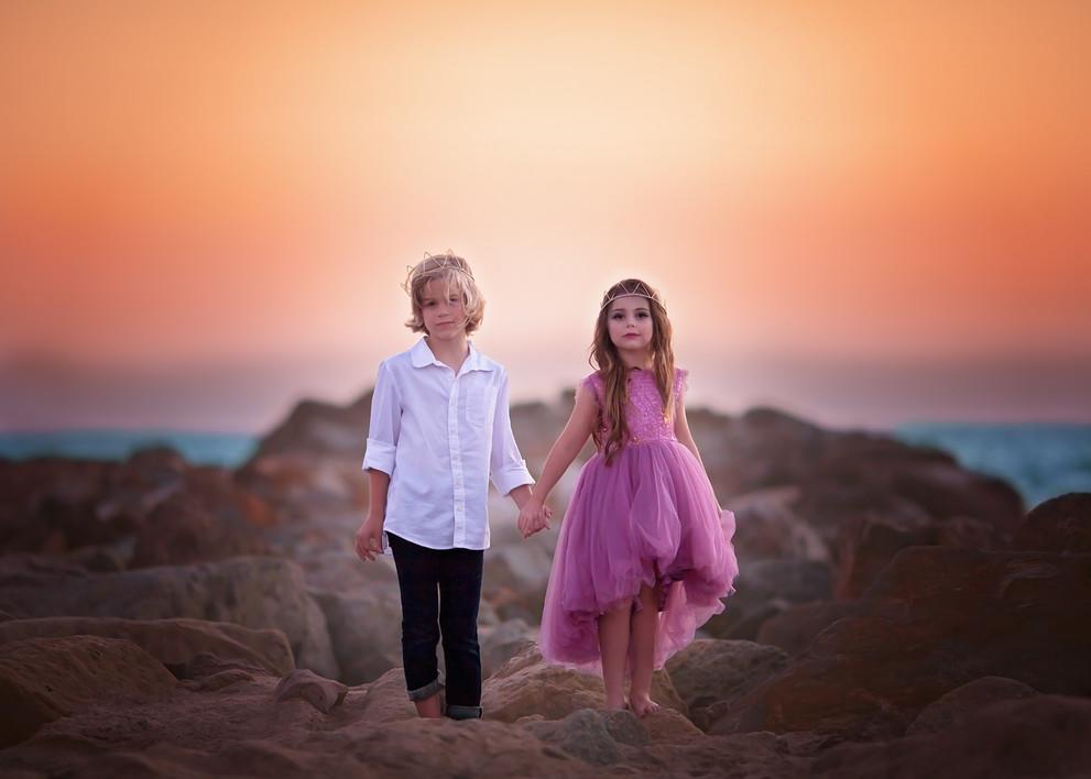 girl, boy, eric, ariel, little mermaid, prince, princess, photography