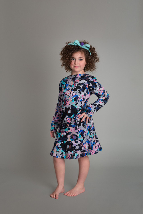 studio, fashion, commercial, bow, dress