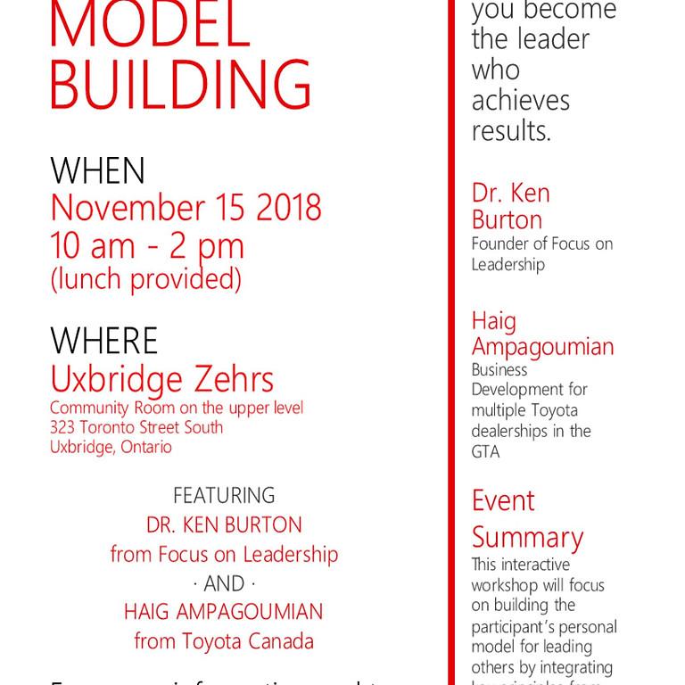 Leadership Model Building Seminar