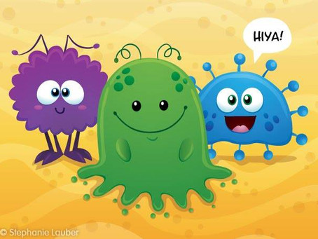 I. love. germs.