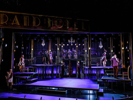 Grand Hotel in the Finger Lakes Musical Theater Festival at the Merry Go Round Playhouse