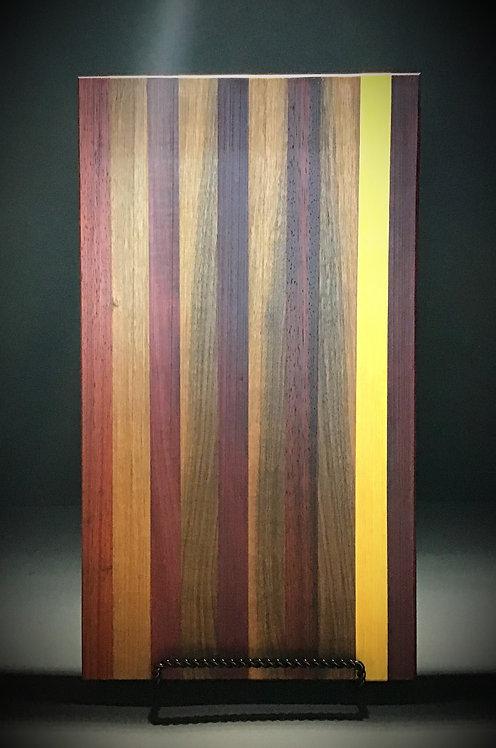 Exotic wood cutting/charcuterie board