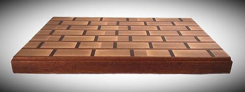 Brick pattern cutting board
