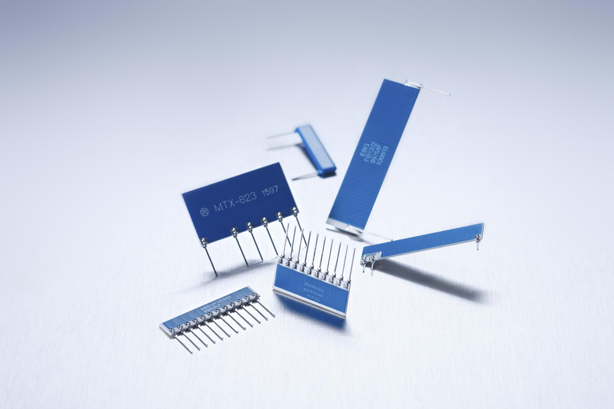 ETRONICS HV Flat style resistors