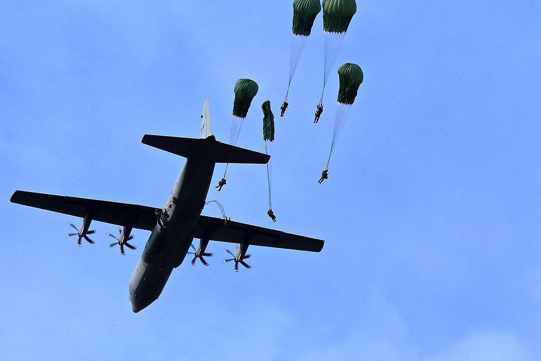QOR Paratroopers