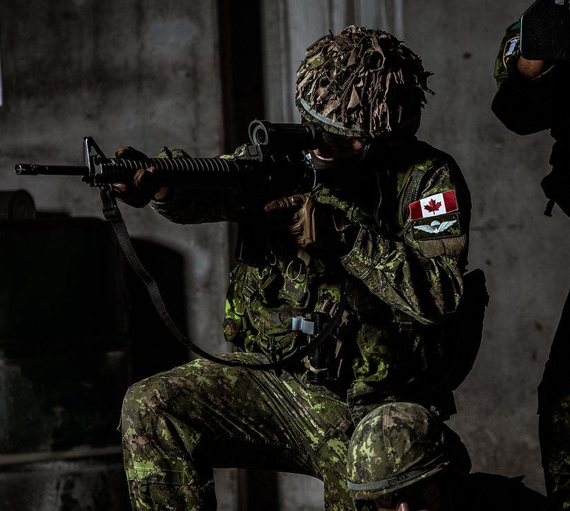 QOR Airborne Rifleman