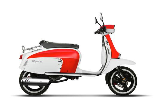 GT 125i AC - Red/White