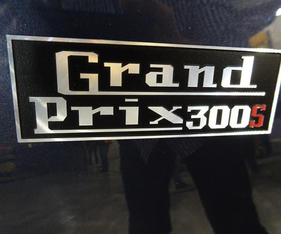 Royal Alloy GP300 badge