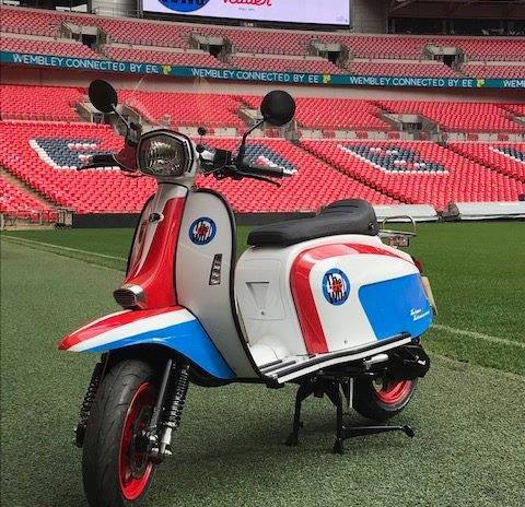 The Who edition Scomadi at Wembley